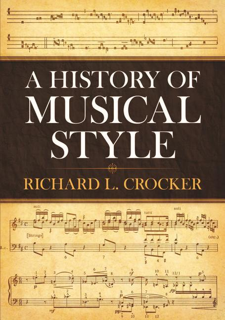 A History of Musical Style als Taschenbuch