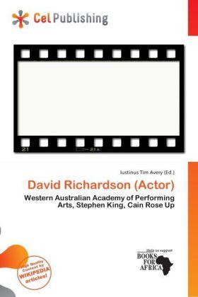 David Richardson (Actor) als Taschenbuch von