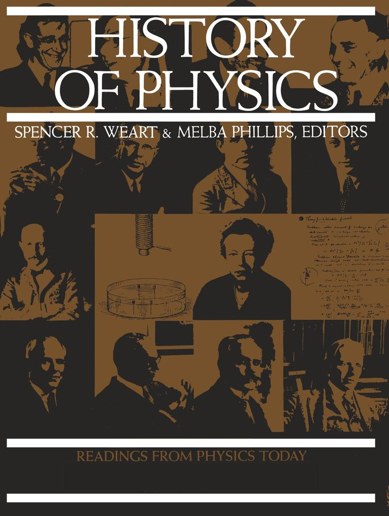 History of Physics als Taschenbuch