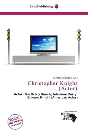 Christopher Knight (Actor) als Taschenbuch von