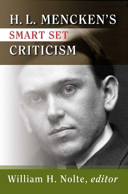 H.L. Mencken's Smart Set Criticism als Taschenbuch