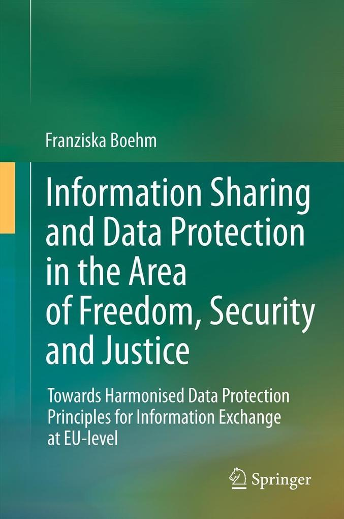 Information Sharing and Data Protection in the ...