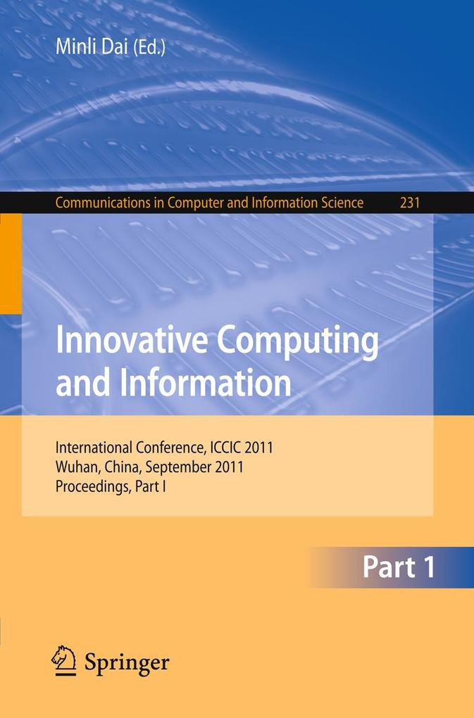 Innovative Computing and Information als eBook ...