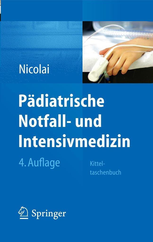 Pädiatrische Notfall- und Intensivmedizin als e...