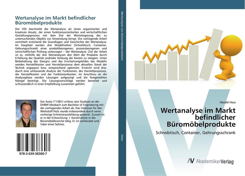 Wertanalyse im Markt befindlicher Büromöbelprod...