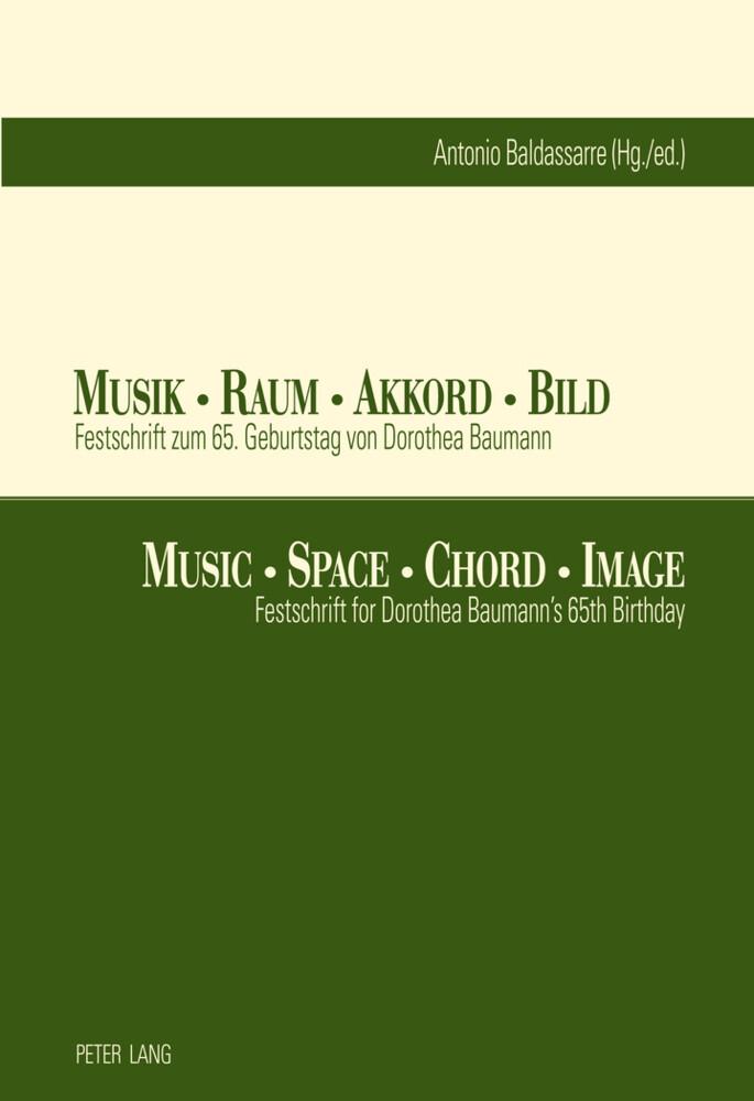 Musik - Raum - Akkord - Bild. Music - Space - C...