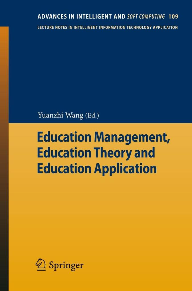 Education Management, Education Theory and Educ...