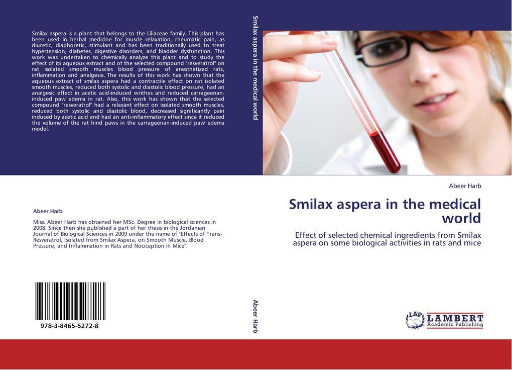 Smilax aspera in the medical world als Buch von...