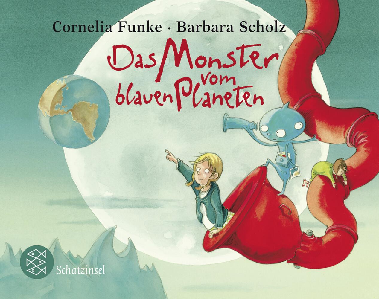 Das Monster vom blauen Planeten als Taschenbuch