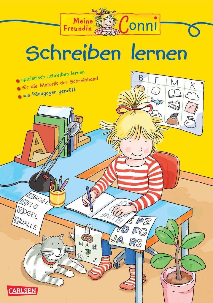 Conni Gelbe Reihe: Schreiben lernen als Buch vo...