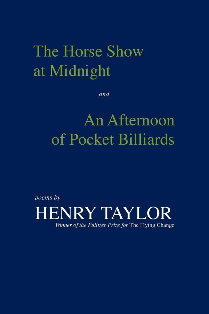 The Horse Show at Midnight and an Afternoon of ...