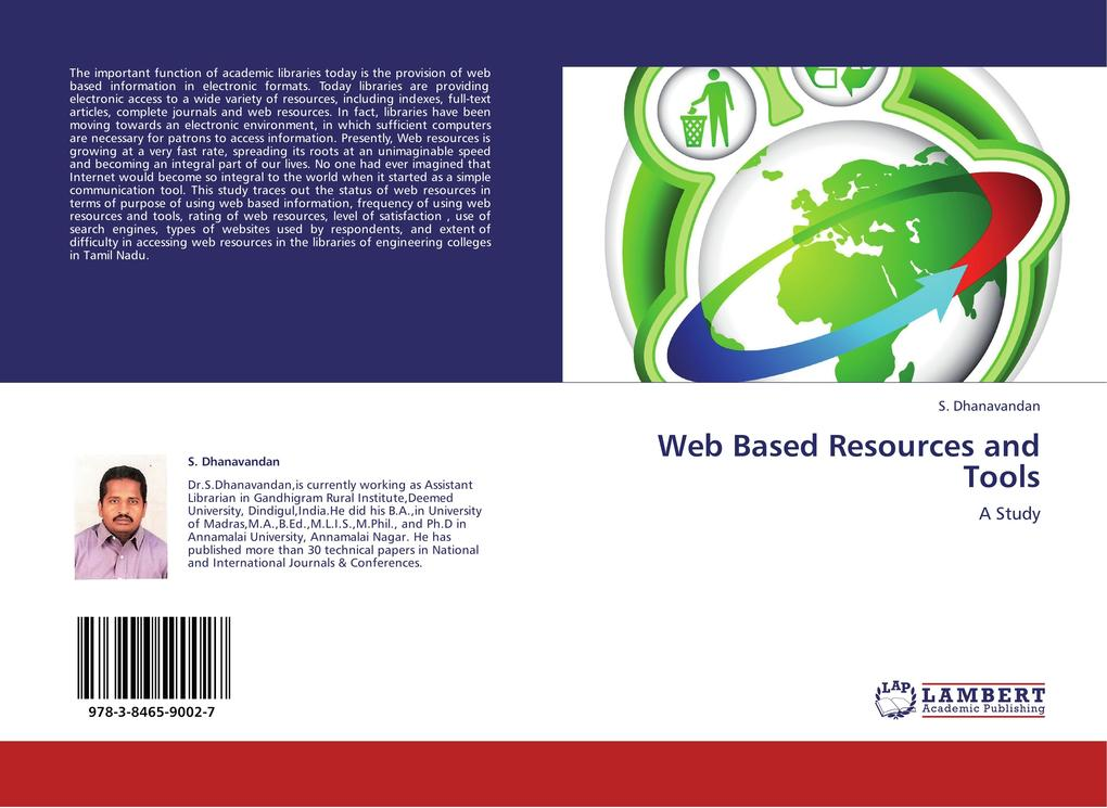 Web Based Resources and Tools als Buch von S. D...
