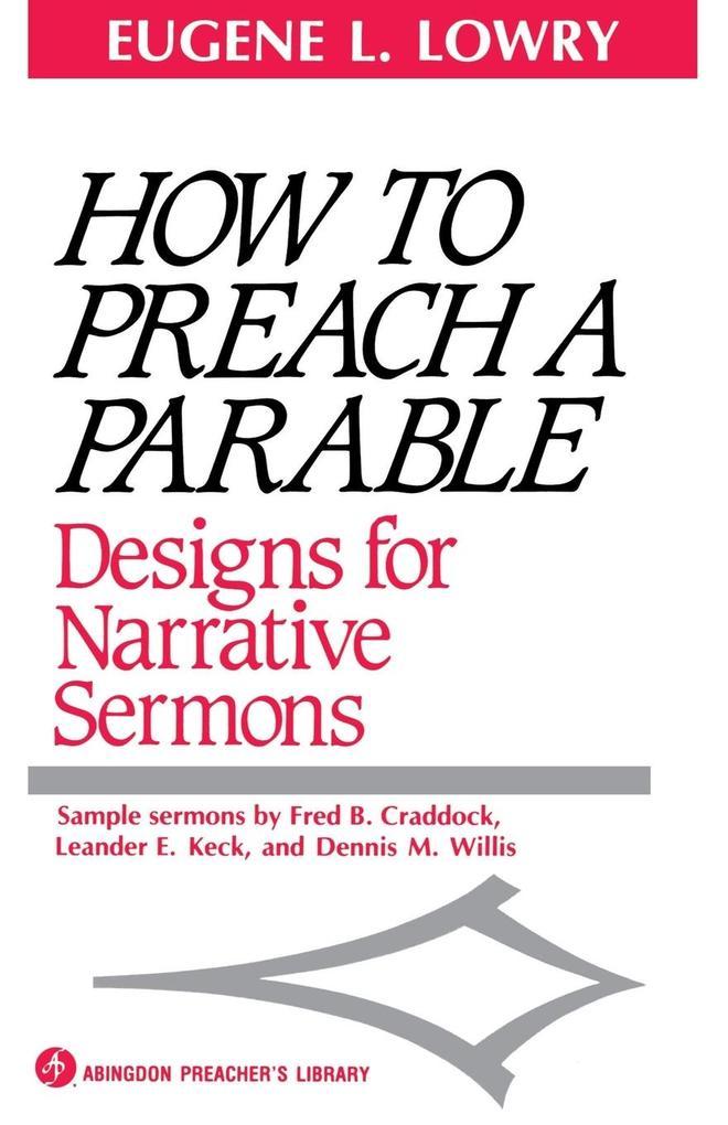 How to Preach a Parable als Taschenbuch