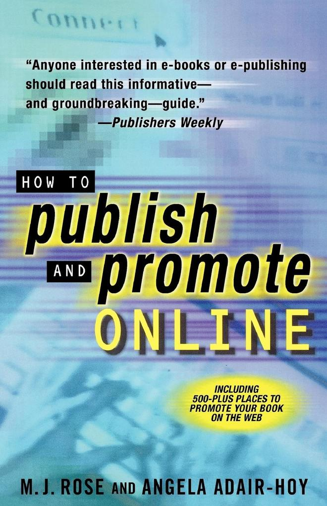 How to Publish and Promote Online als Taschenbuch