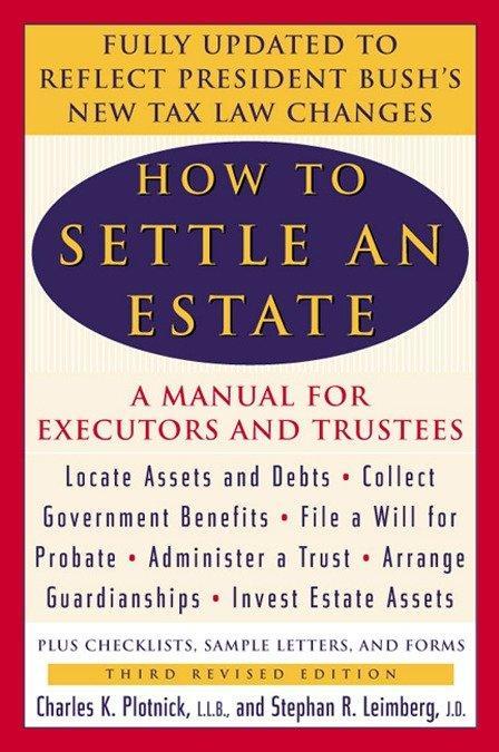 How to Settle an Estate als Taschenbuch