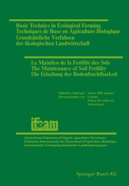 Basic Technics in Ecological Farming / Techniqu...