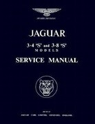The Jaguar S-Type, 3.4 and 3.8 Litre, Workshop Manual: 1963-1966