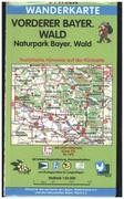 Vorderer Bayerischer Wald / Naturpark Bayerischer Wald 1 : 50 000. Fritsch Wanderkarte