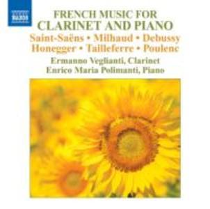 Französische Musik für Klarinette+Klavier
