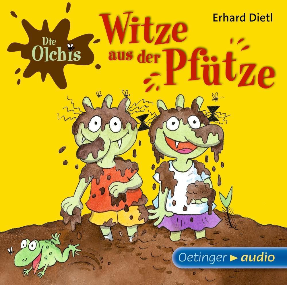 Die Olchis - Witze aus der Pfütze als Hörbuch C...