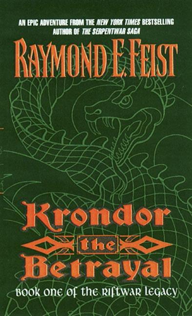 Krondor: the Betrayal als Taschenbuch