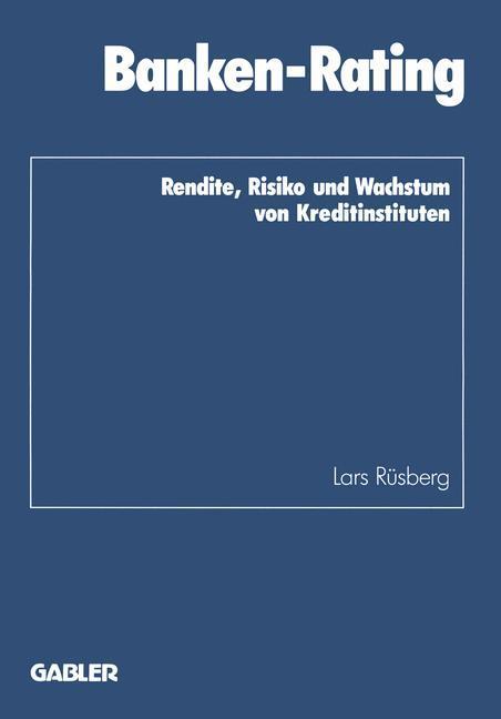 Banken-Rating als Buch von Lars Rüsberg