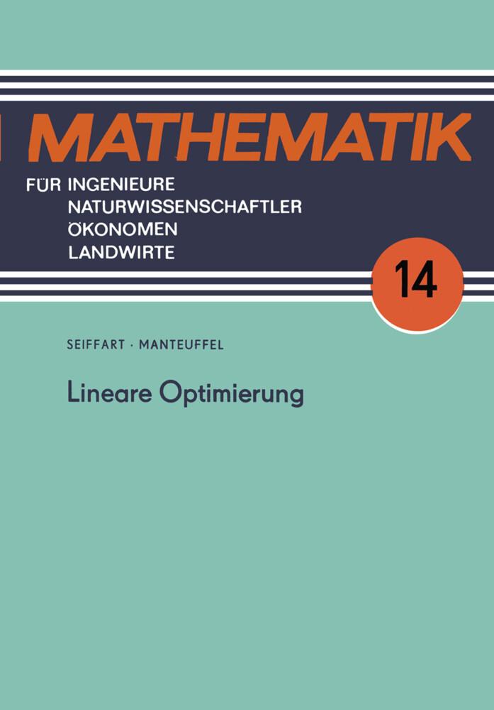 Lineare Optimierung als Buch von Karl Manteuffe...