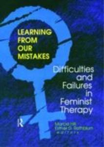 Learning from Our Mistakes als Taschenbuch