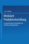 Modulare Produktentwicklung