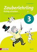 Zauberlehrling 3. Arbeitsheft. Vereinfachte Ausgangsschrift VA. Bayern
