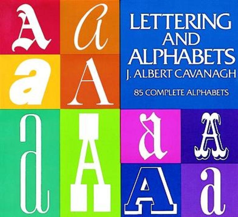 Lettering and Alphabets: 85 Complete Alphabets als Taschenbuch
