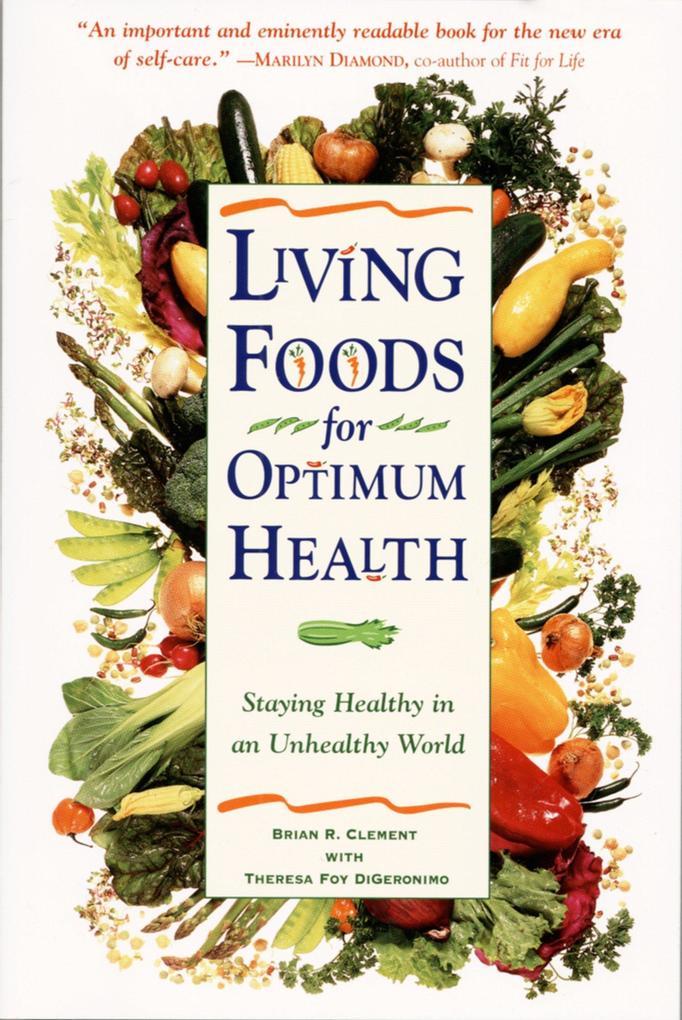 Living Foods For Optimum Health als Taschenbuch