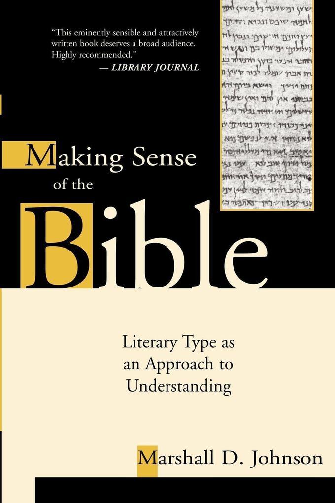 Making Sense of the Bible als Taschenbuch