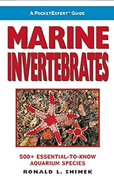 Marine Invertebrates: 500+ Essential-To-Know Aquarium Species als Taschenbuch