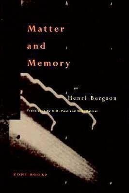 Matter and Memory als Buch