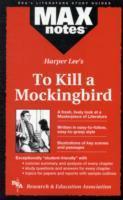 To Kill a Mockingbird (Maxnotes Literature Guides) als Buch