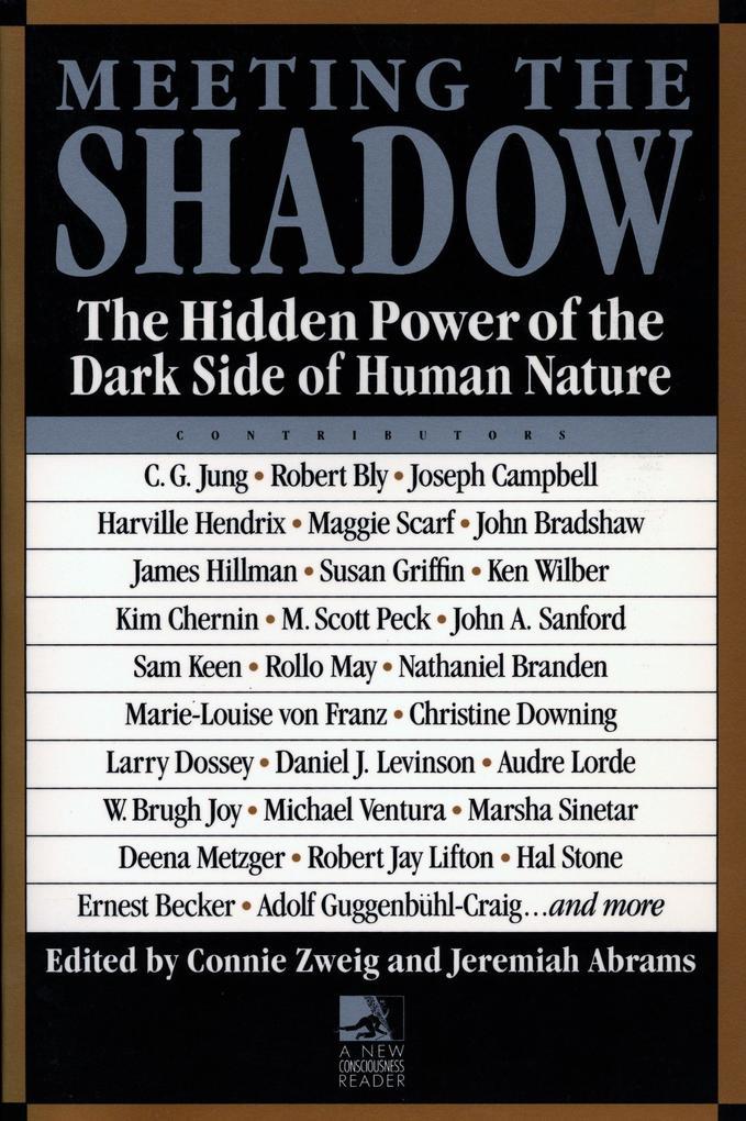 Meeting the Shadow als Taschenbuch