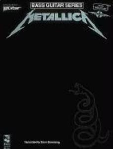 Metallica: (black) for Bass als Taschenbuch
