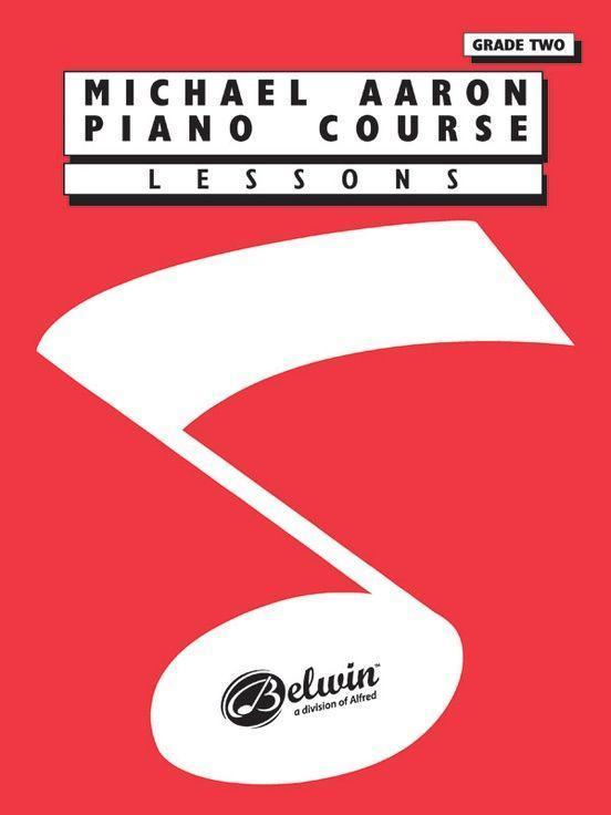 Michael Aaron Piano Course Lessons: Grade 2 als Taschenbuch
