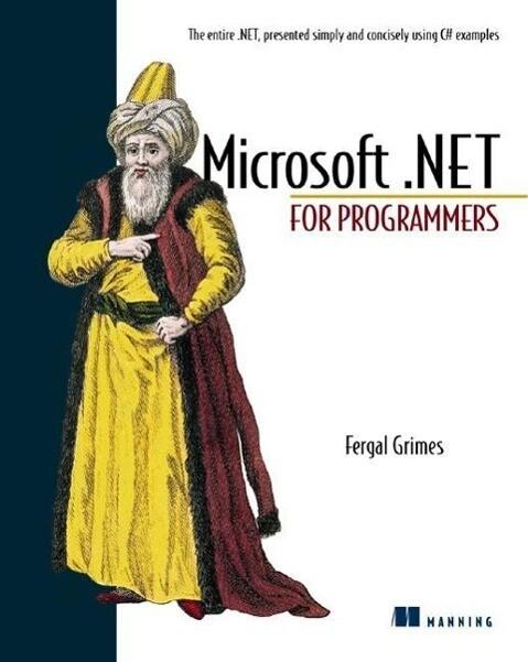 Microsoft.Net for Programmers als Buch (gebunden)