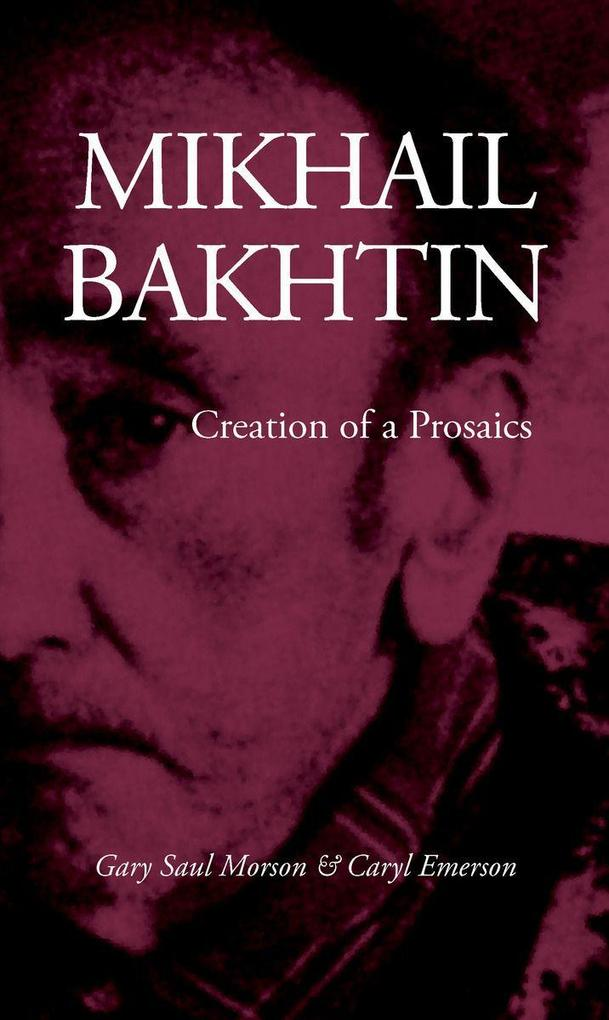 Mikhail Bakhtin als Taschenbuch