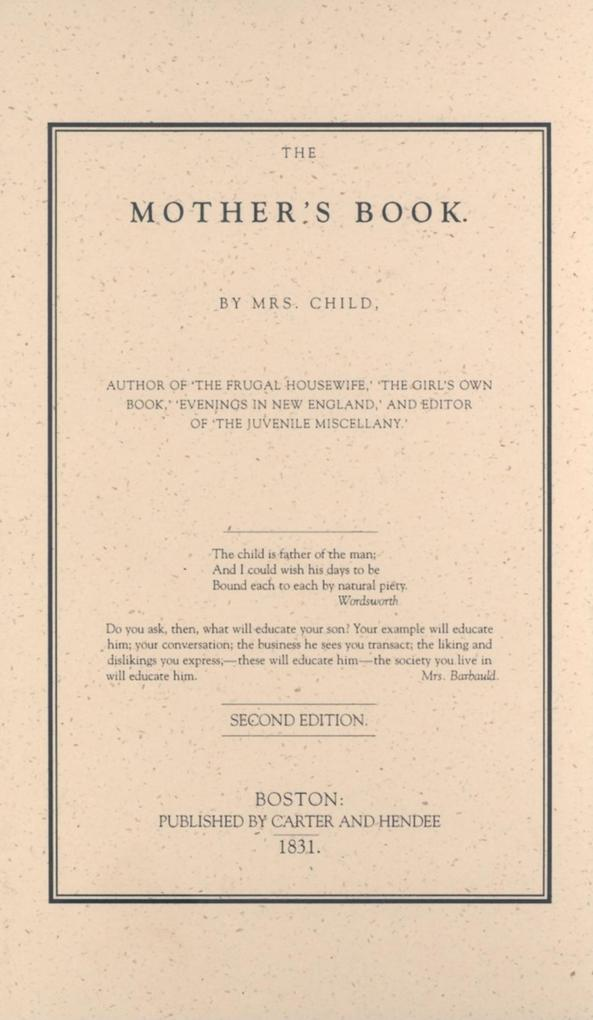 Mother's Book als Buch