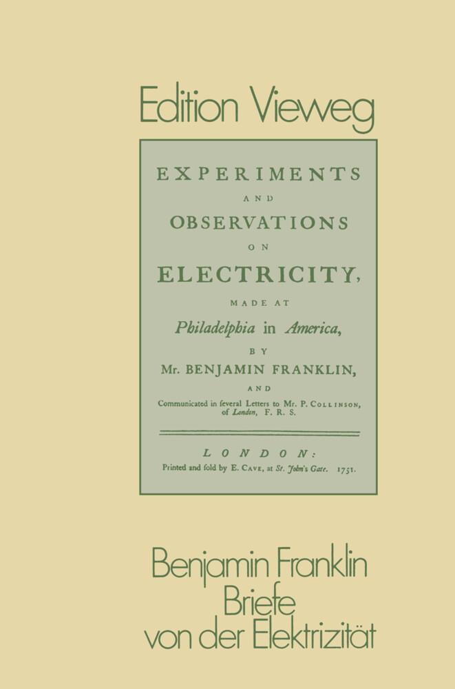 Briefe von der Elektrizität als Buch von Benjam...