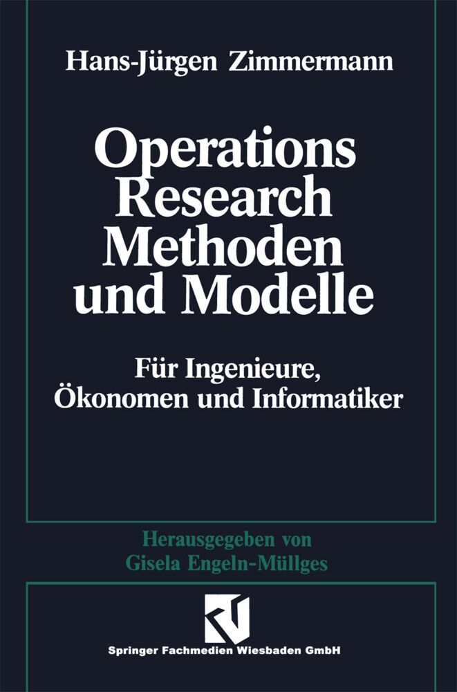 Methoden und Modelle des Operations Research al...