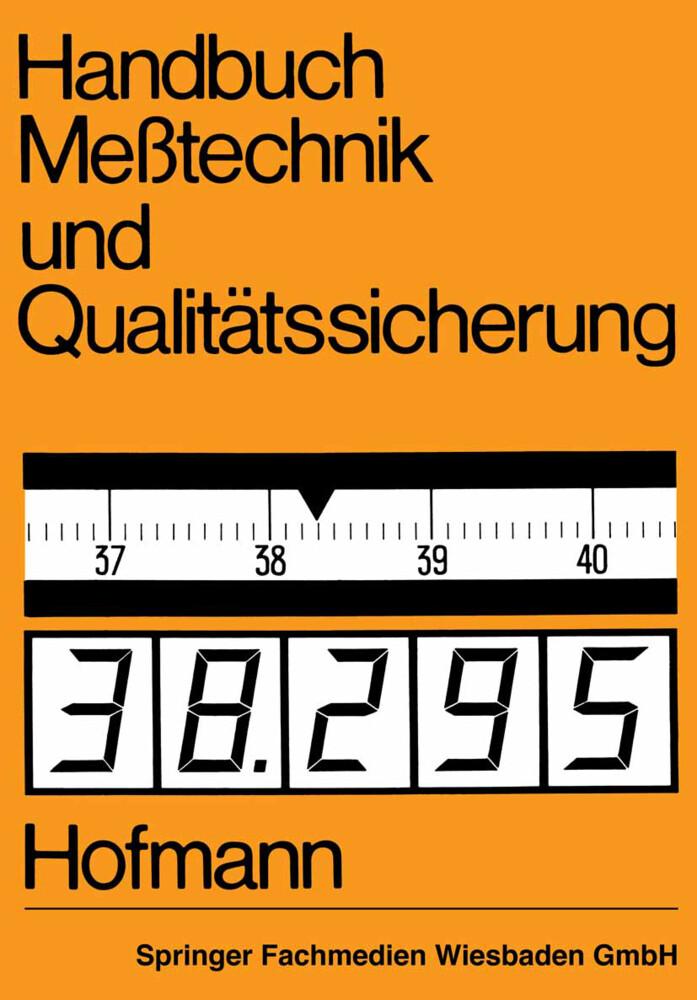 Handbuch Meßtechnik und Qualitätssicherung als ...