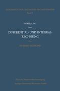 Vorlesung über Differential- und Integralrechnung 1861/62