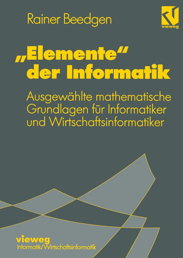 Elemente der Informatik als Buch von Rainer Bee...