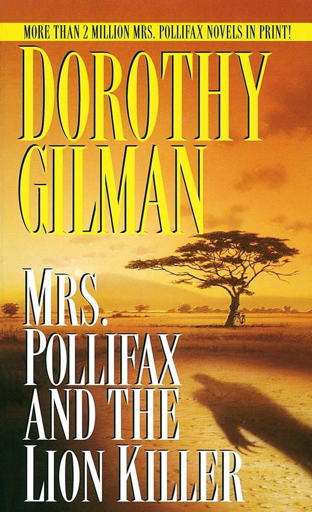 Mrs. Pollifax and the Lion Killer als Taschenbuch