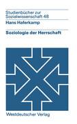 Soziologie der Herrschaft