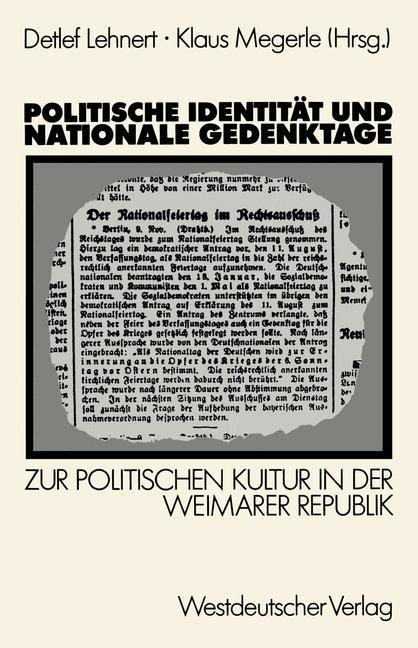 Politische Identität und nationale Gedenktage a...